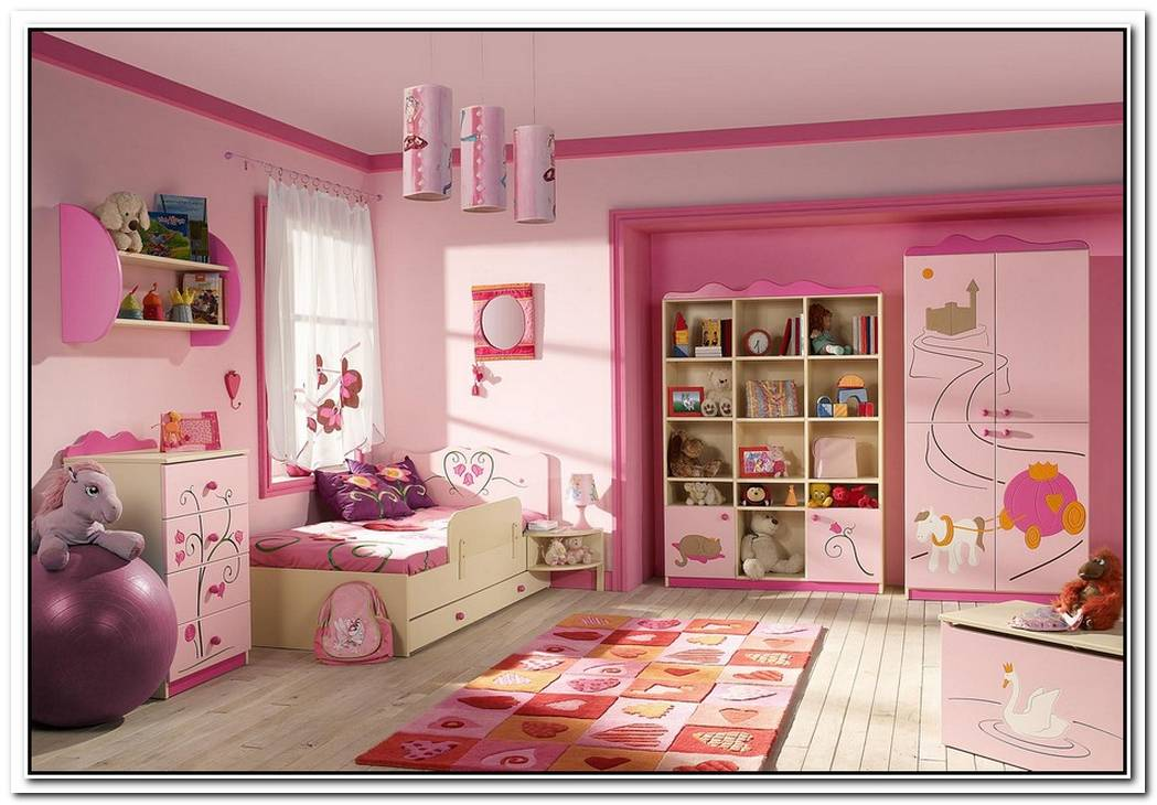Beautiful Kids Bedroom With A Theme
