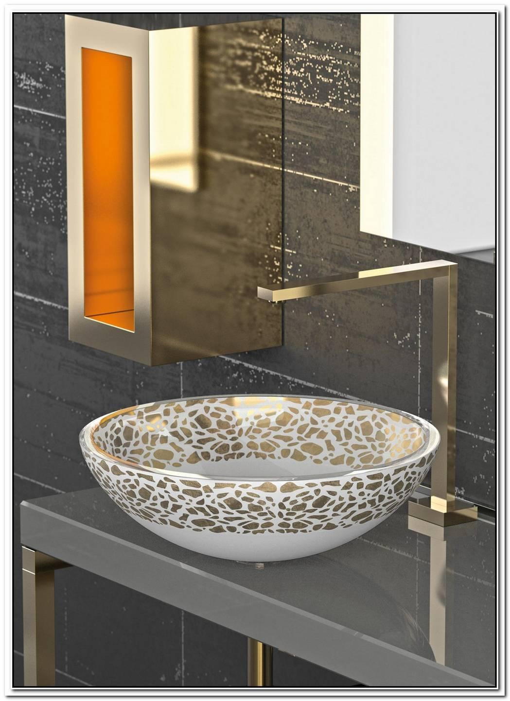 Beautiful Moon Glass Sink By Glass Design