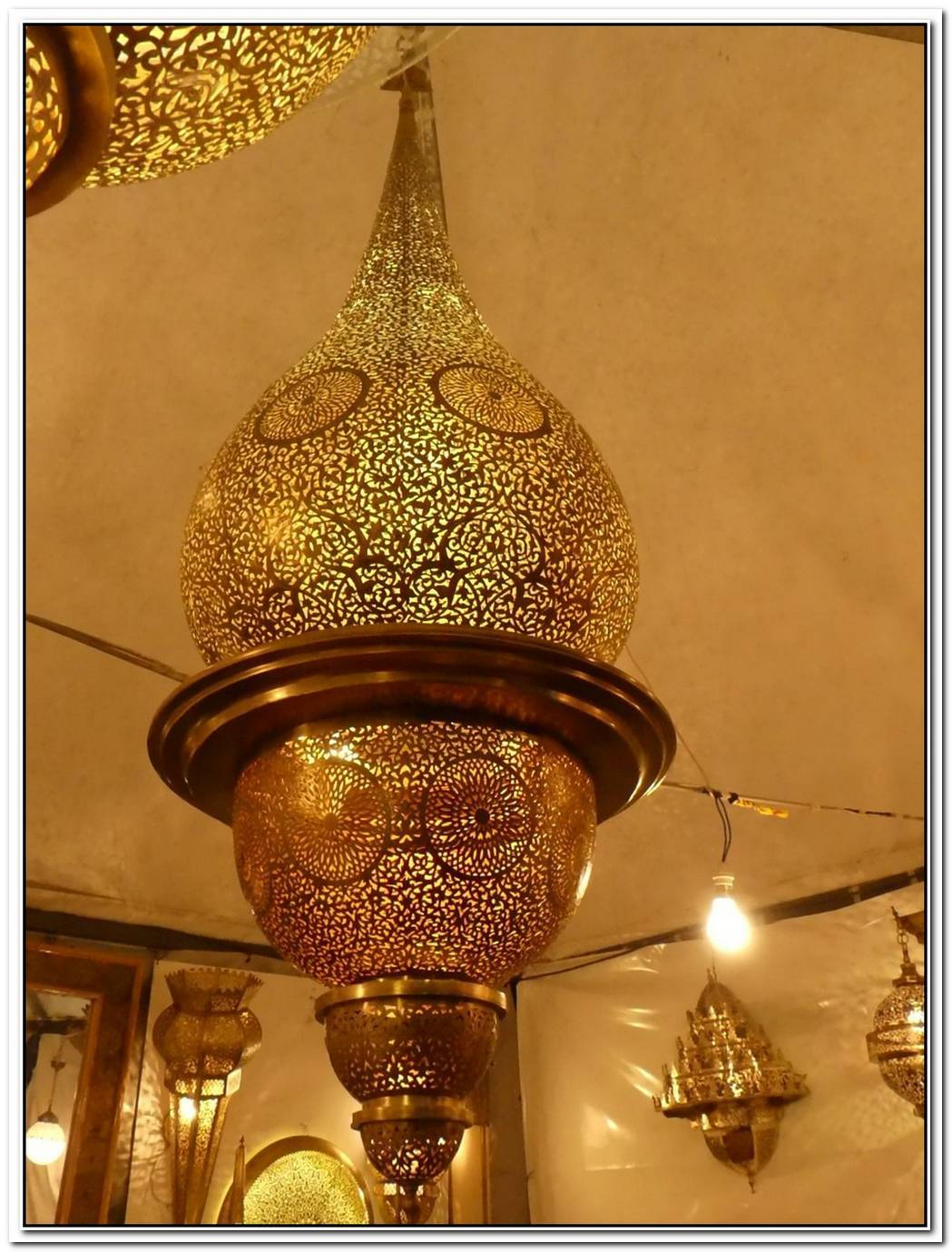 Beautifully Handcrafted Moroccan Pendant