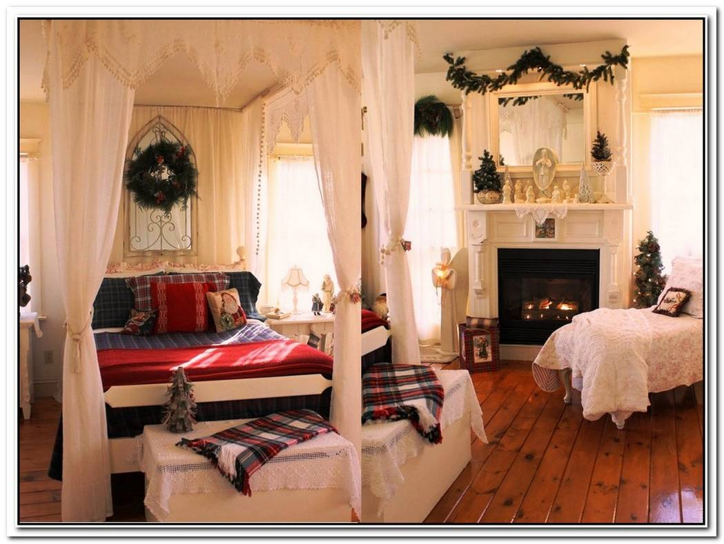 Bedroom Decorations For Christmas
