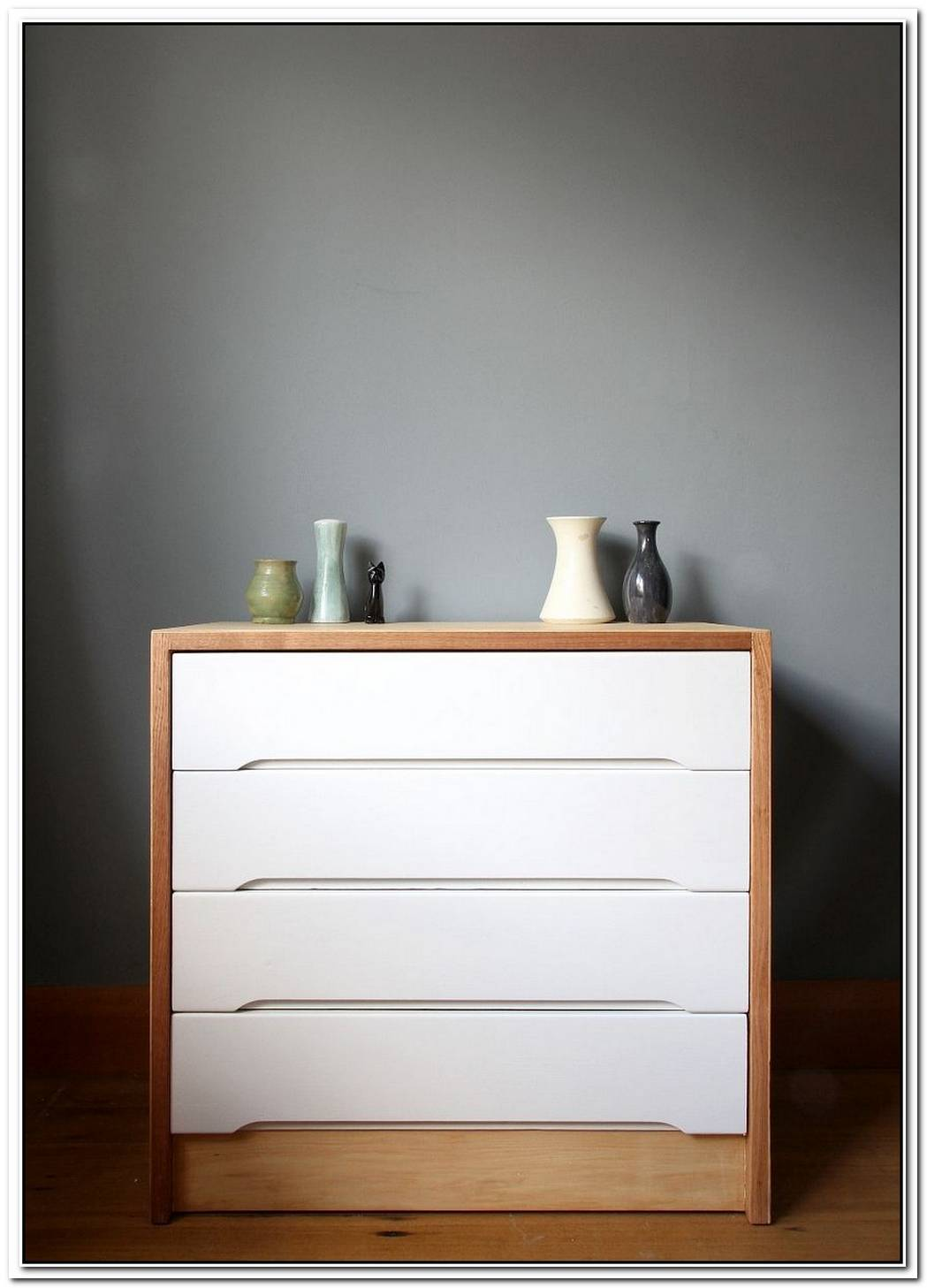 Before And After A Fresh Scandinavian Dresser Makeover