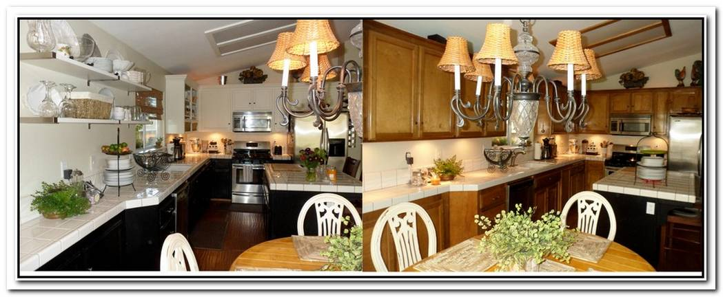 Before And After Kitchen Décor
