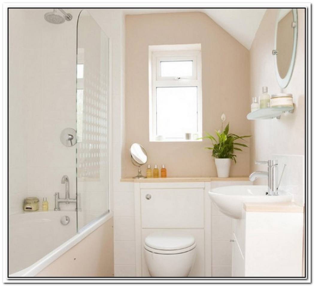 Beige Bathroom Small