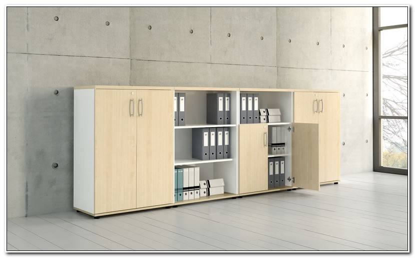 Best Armoire Basse Bureau