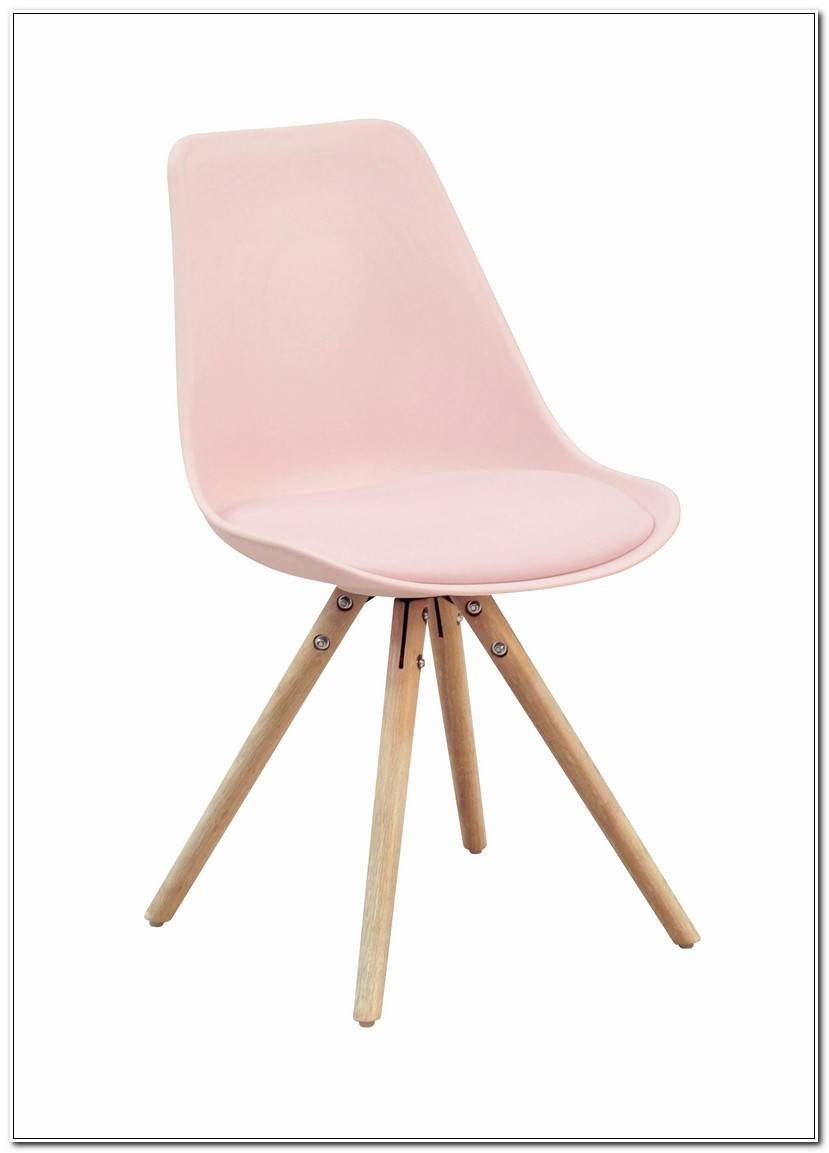 Best Chaise Scandinave Rose