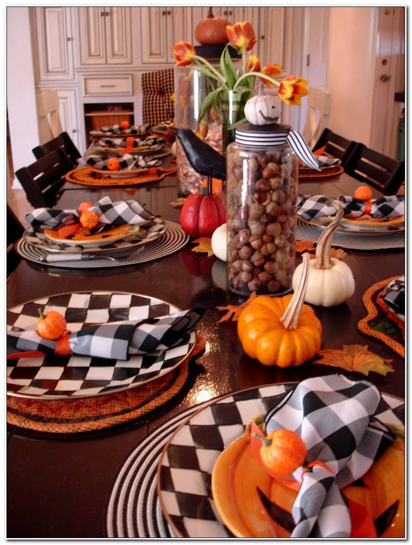 Best Deco Table Halloween