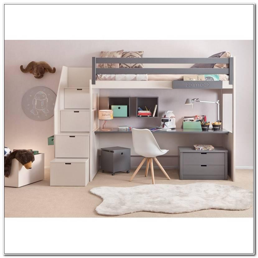 Best Lit Mezzanine Bureau Conforama