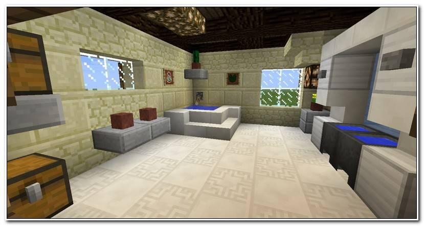 Best Salle De Bain Moderne Minecraft