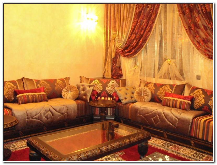 Best Salon Marocain Traditionnel Benchrif