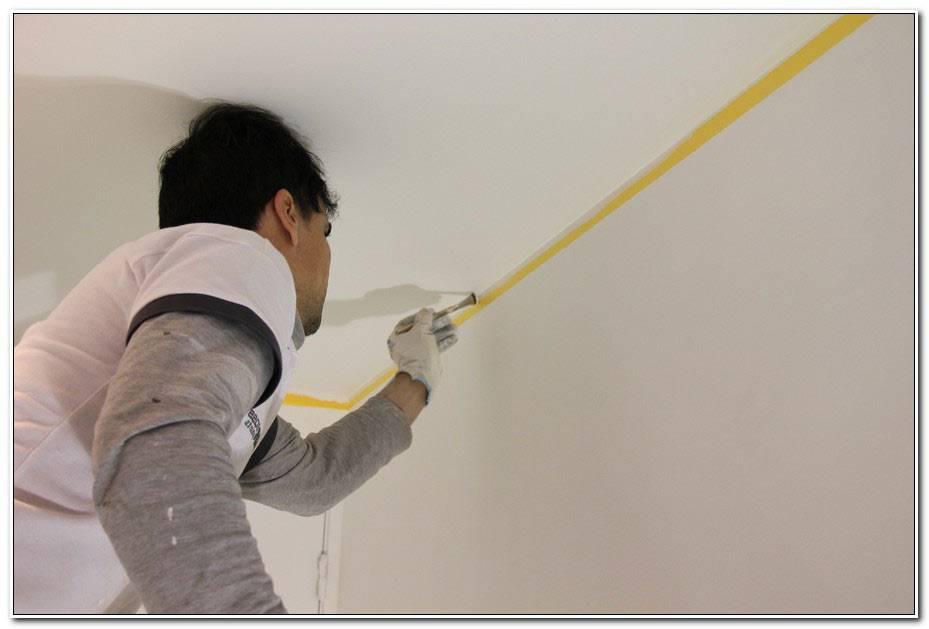 Bien Peindre Un Plafond