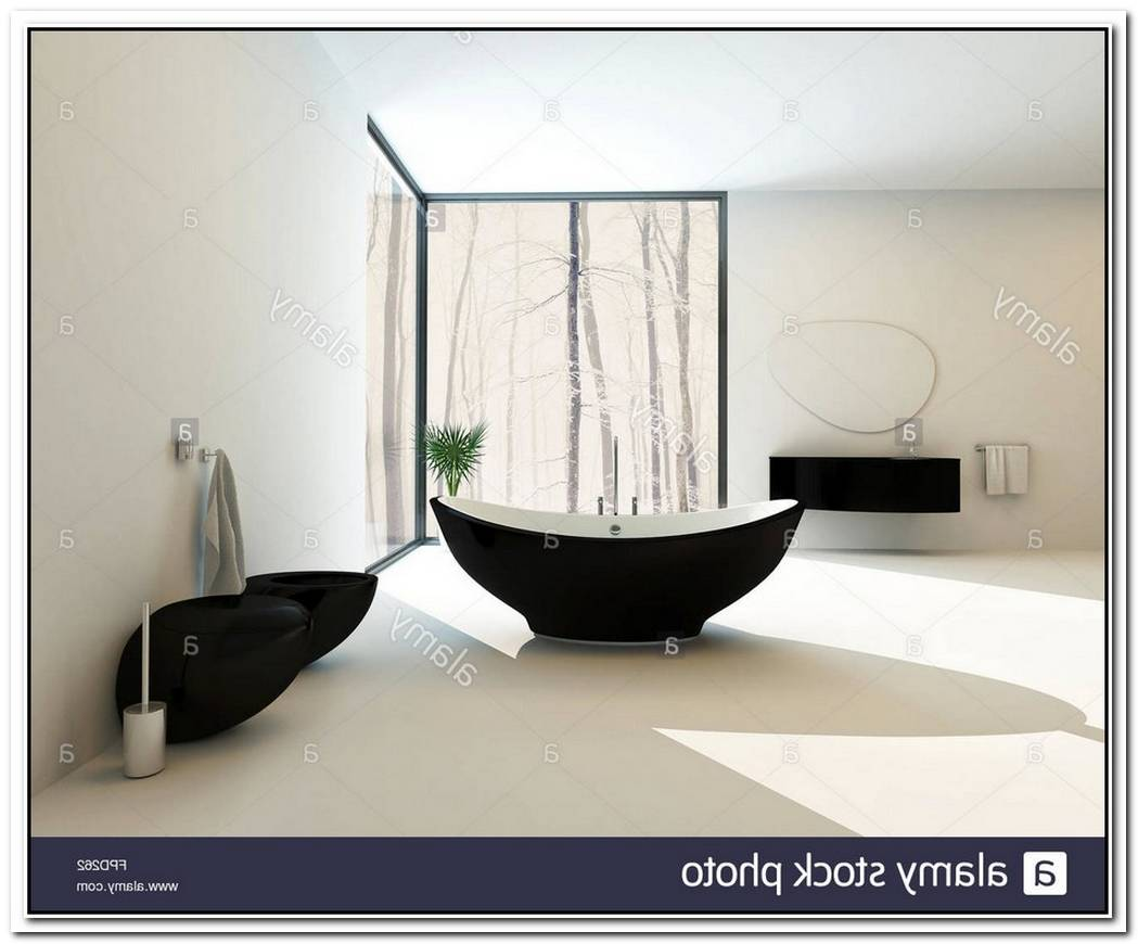Black Contemporary Bathroom Suite