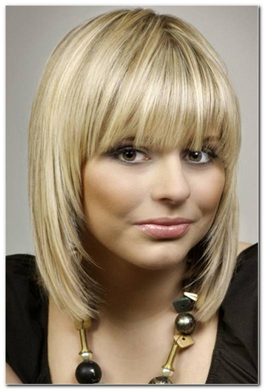 Blond Frisuren Mittellang