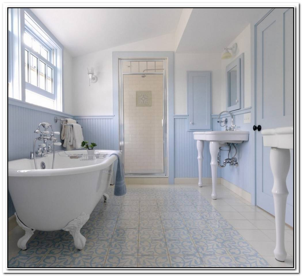Blue Style Bathroom