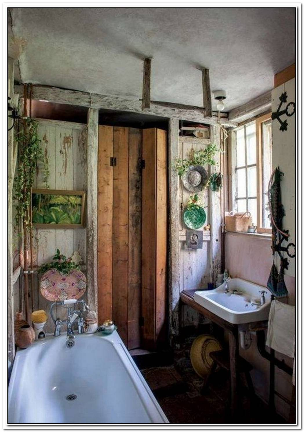 Bohemian Bathroom Apartment