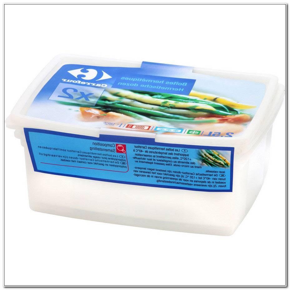Boite Plastique Alimentaire Carrefour