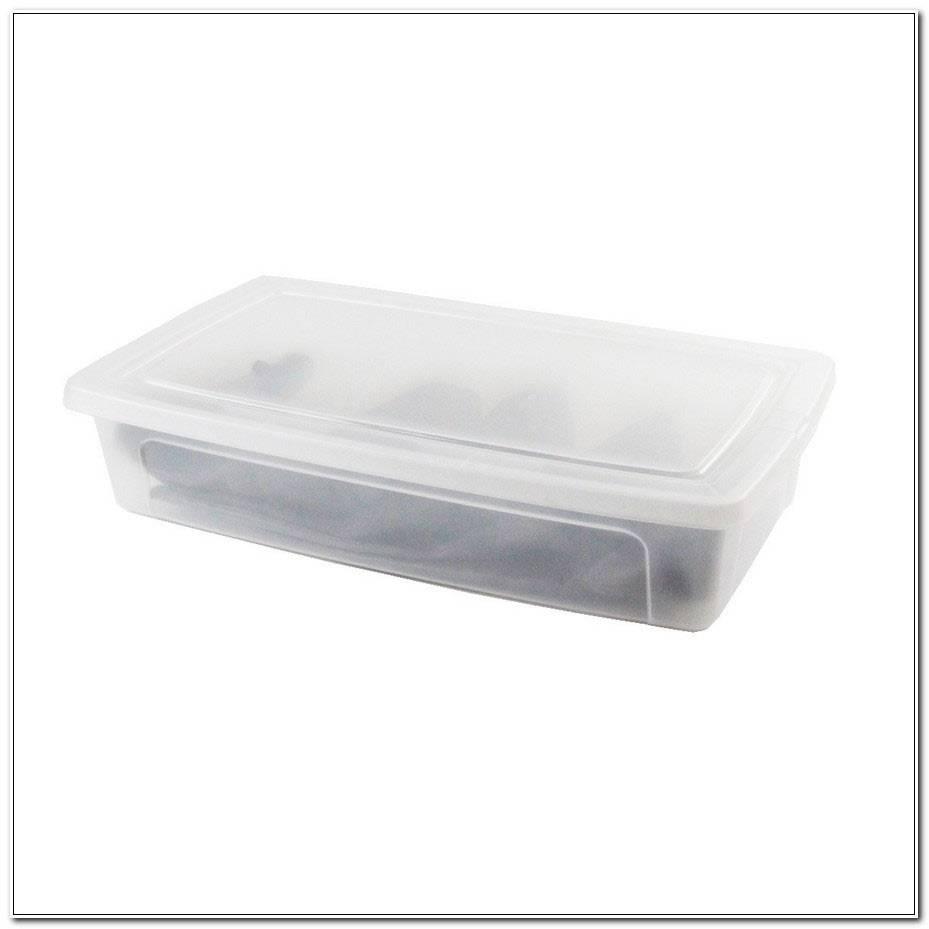 Boite Plastique Rangement Sous Lit