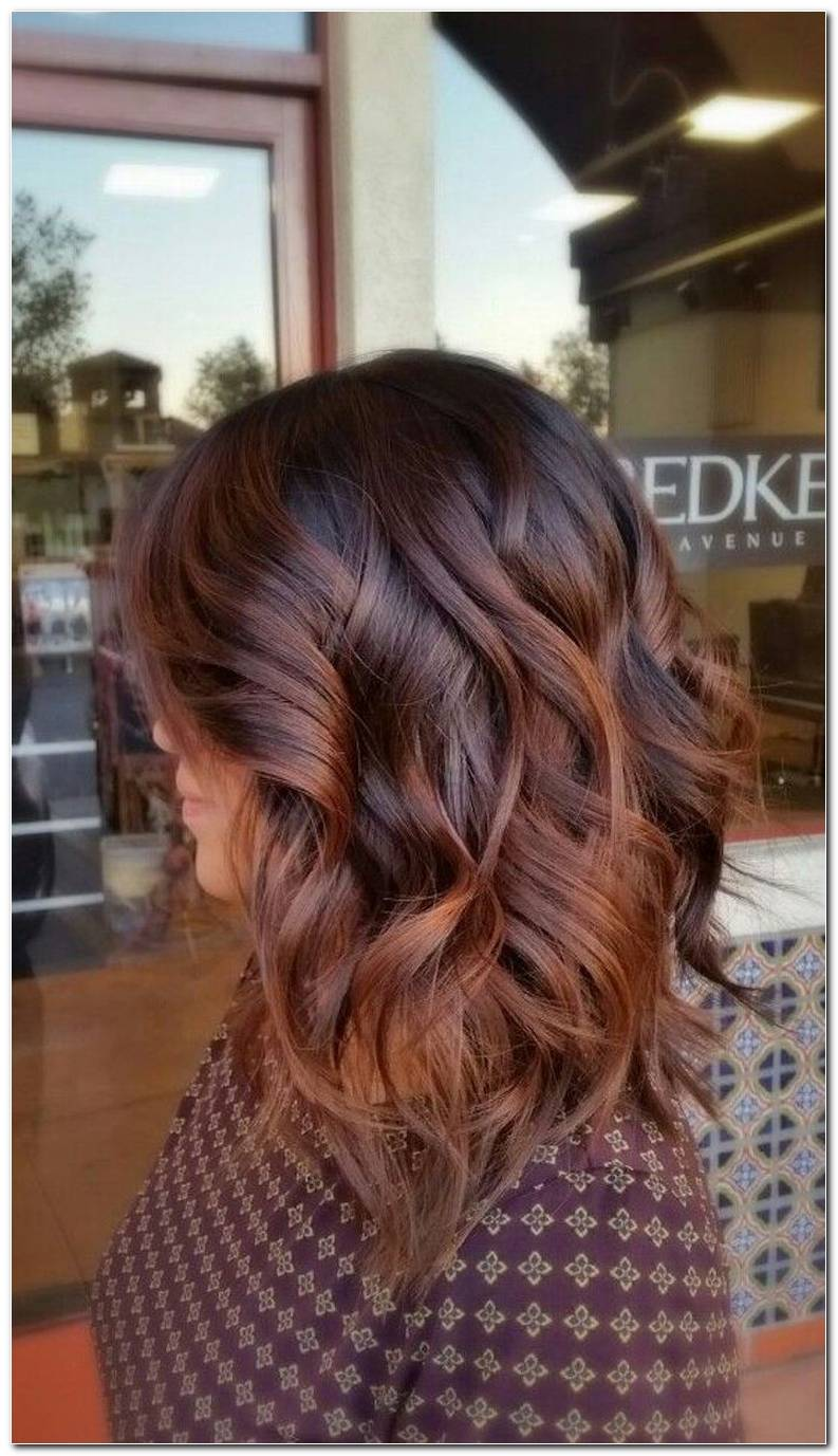 Braune Mittellange Haare Frisuren