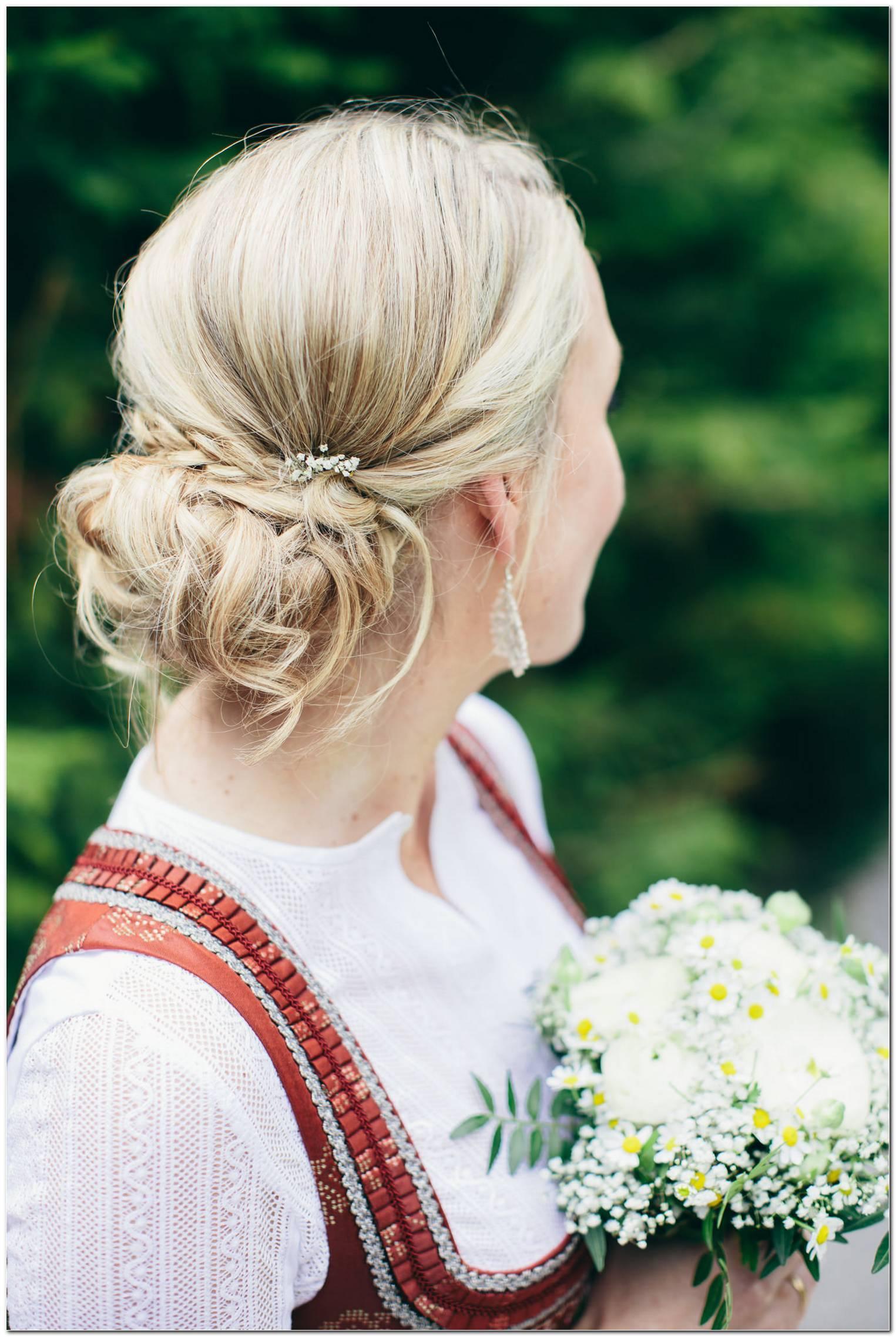 Braut Frisur Tracht