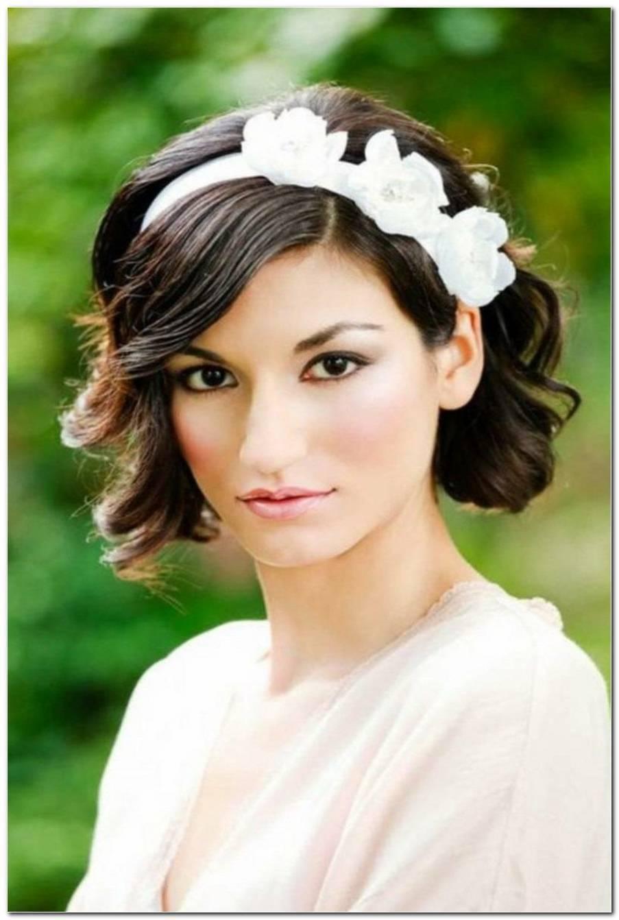 Brautfrisuren Halblange Haare