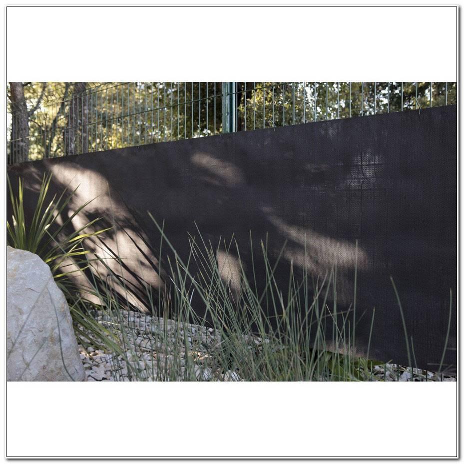 Brise Vue Jardin Noir