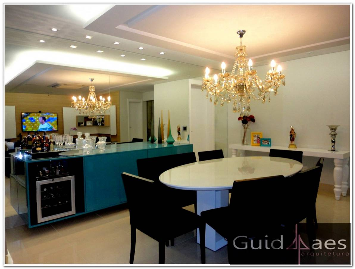 Buffet Sala De Jantar Azul