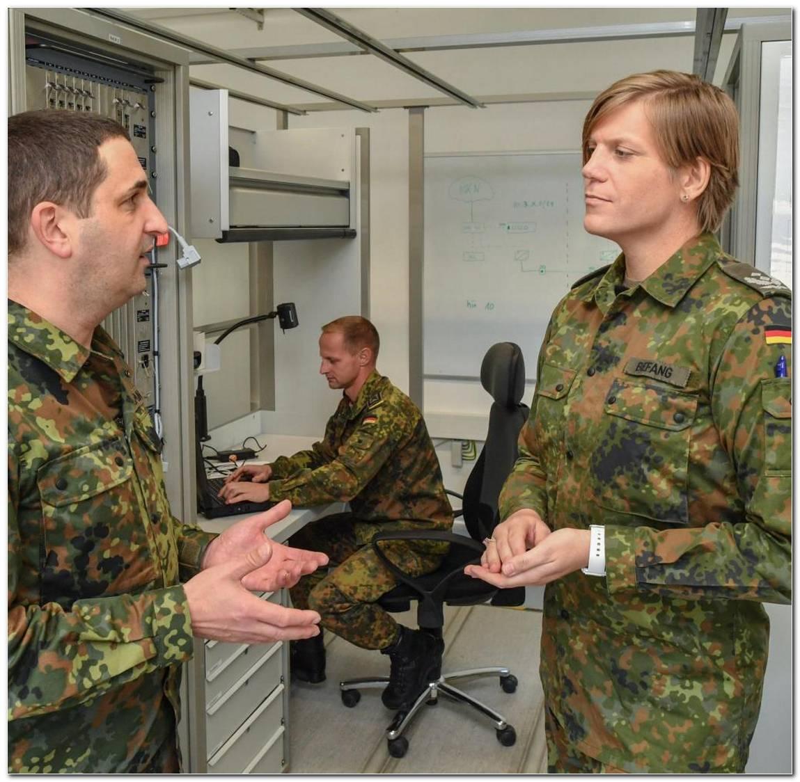 Bundeswehr Frisur Frau