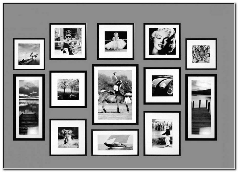 Cadre Avec Photo Noir Et Blanc
