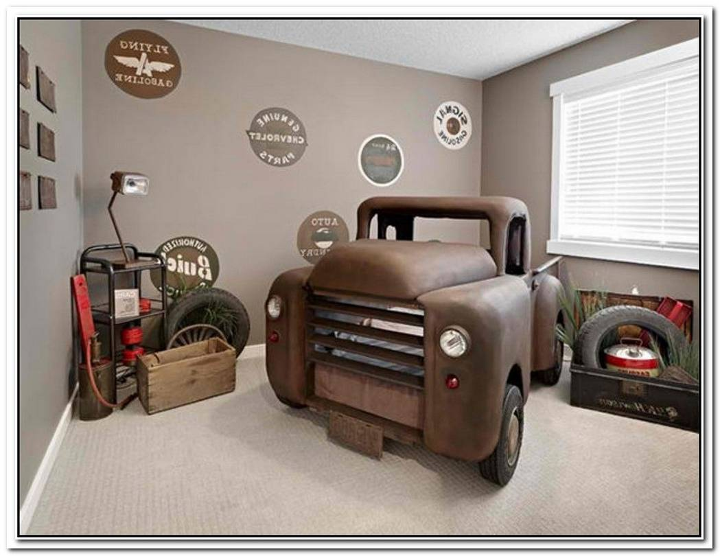 Car Themed Bathroom For Your Boy