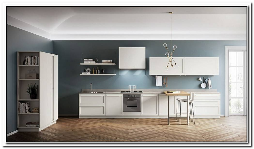 CarattereClassicalContemporary Kitchen Blends Sophistication With Ease