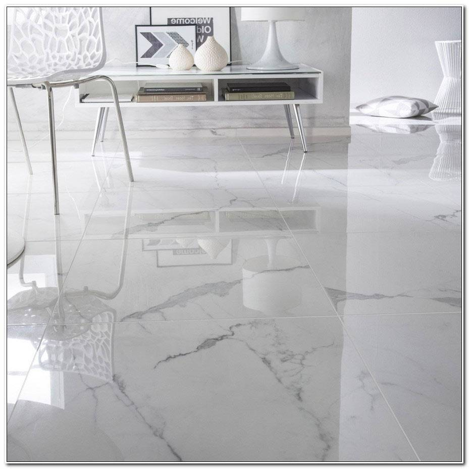 Carrelage 60×60 Blanc Brillant