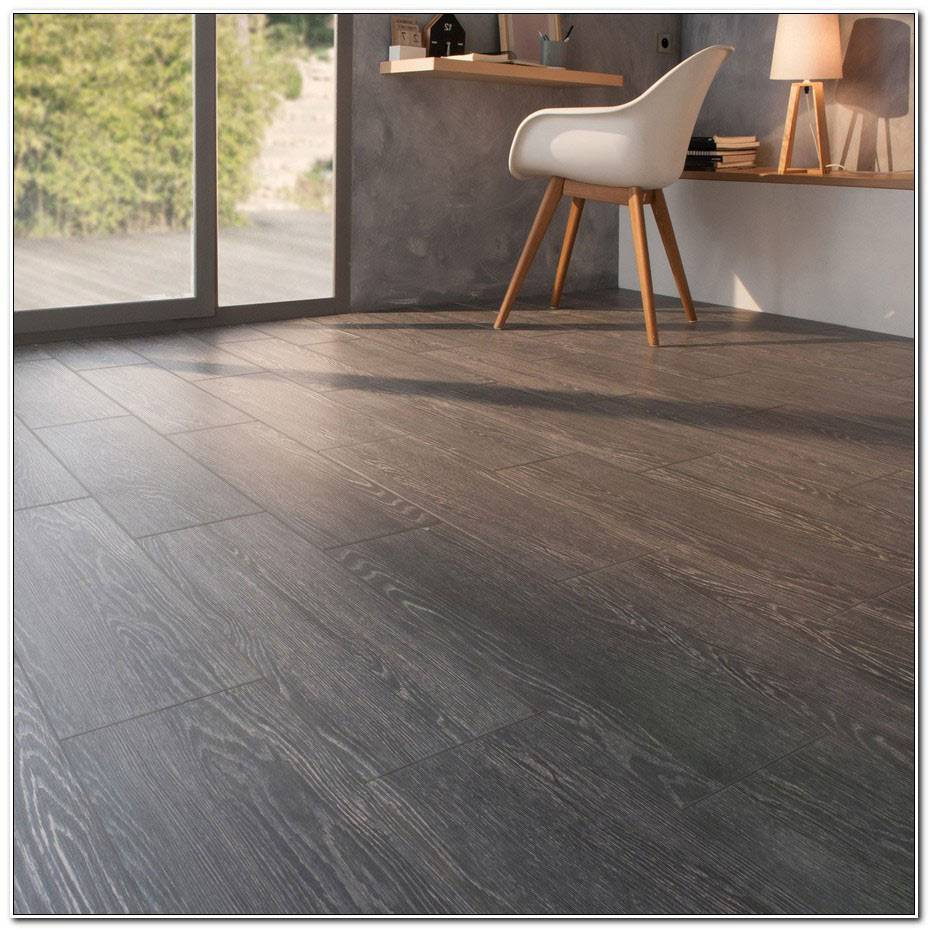 Carrelage Imitation Parquet Gris Anthracite