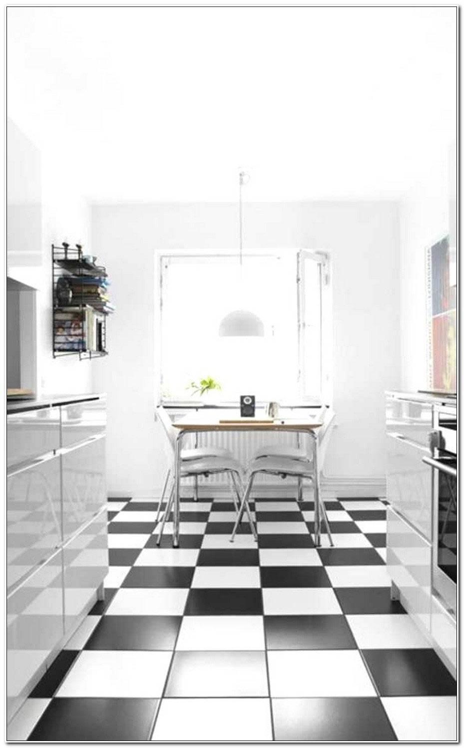 Carrelage Noir Et Blanc Cuisine