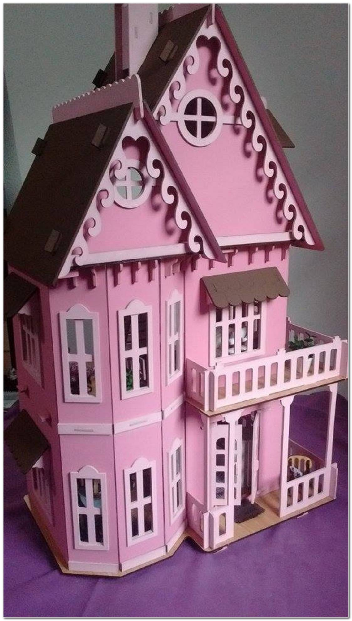 Casa De Boneca Para Criança Entrar