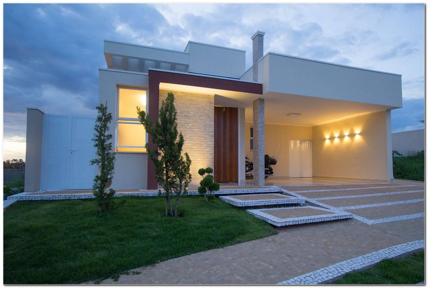 Casas Com Garagens E Fachadas