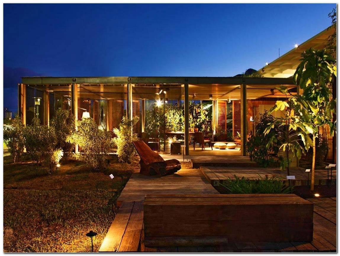 Casas Com Luminárias Externas