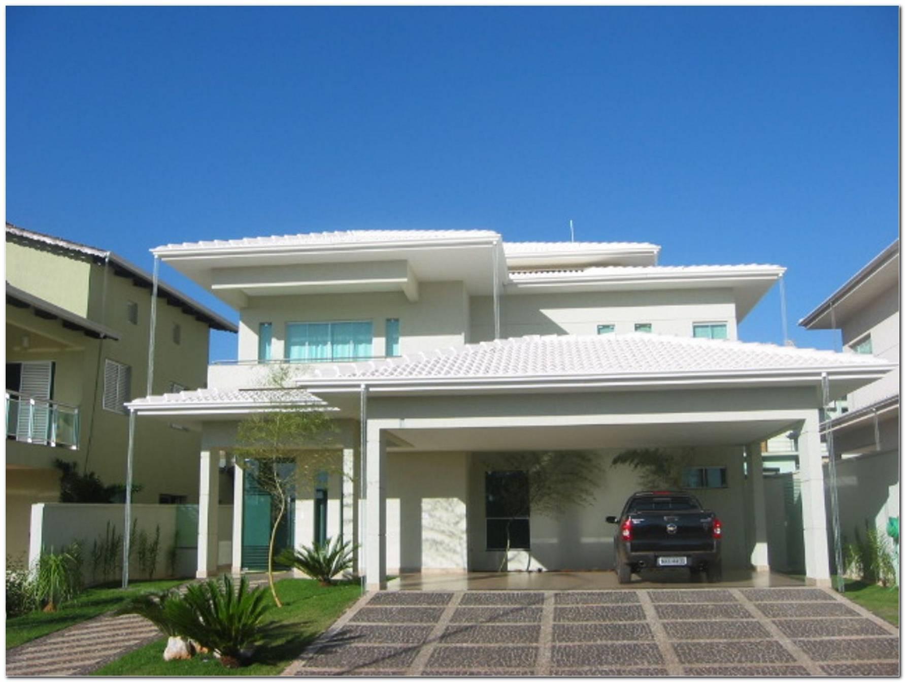 Casas Com Telhados Modernos
