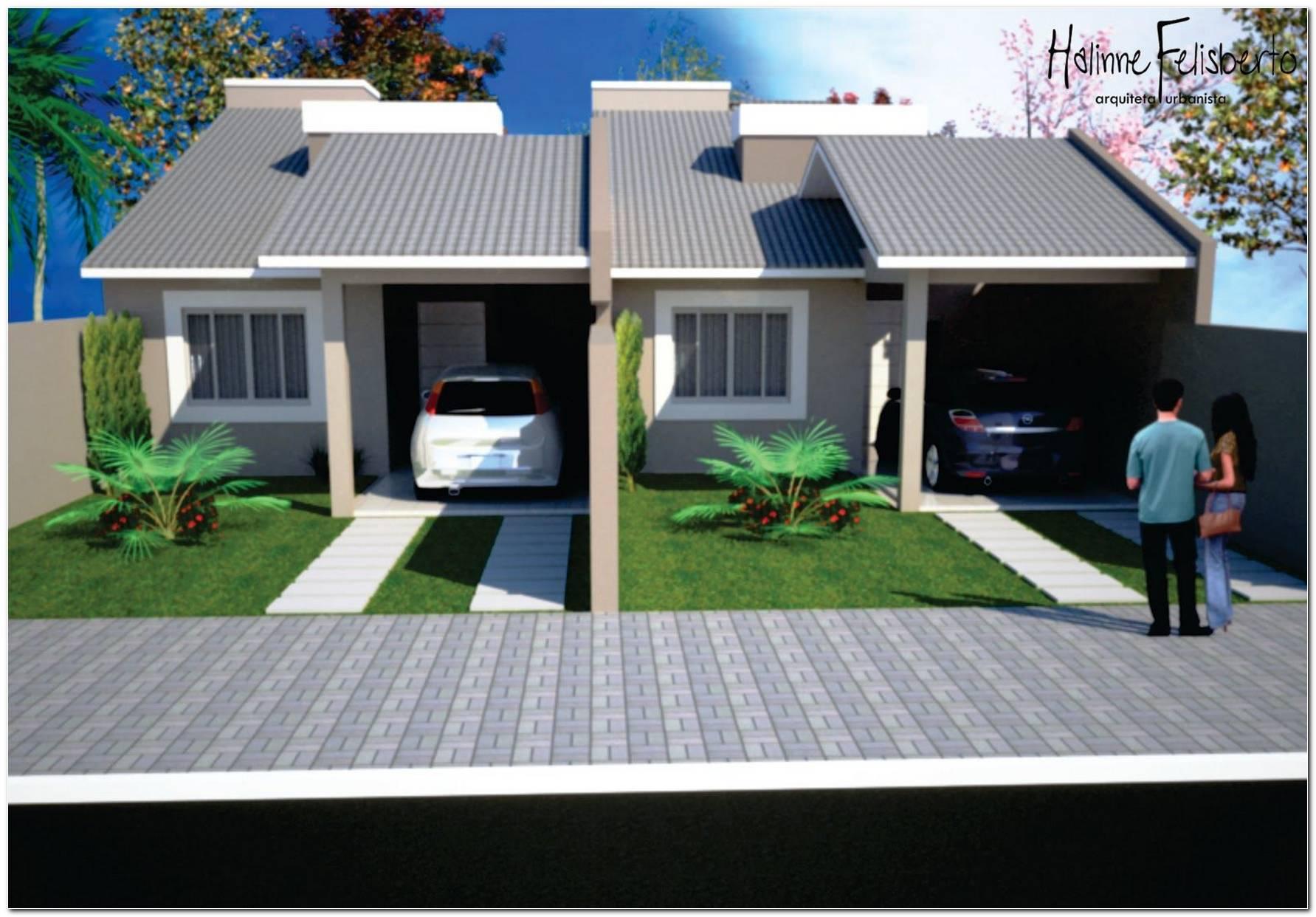 Casas Geminadas Dicas Plantas E Projetos