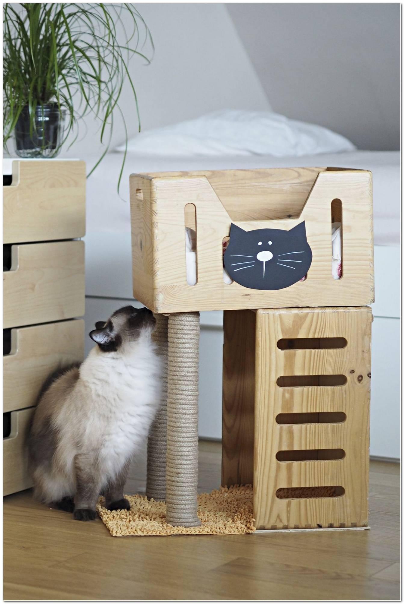 Casas Para Gatos Ideias Diy E 50 Modelos Lindos Para Seu Bichano