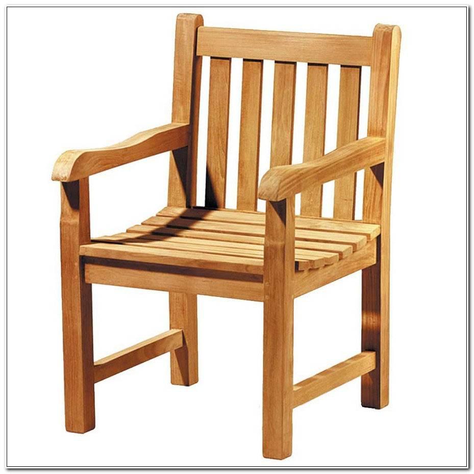 Chaise De Jardin Teck