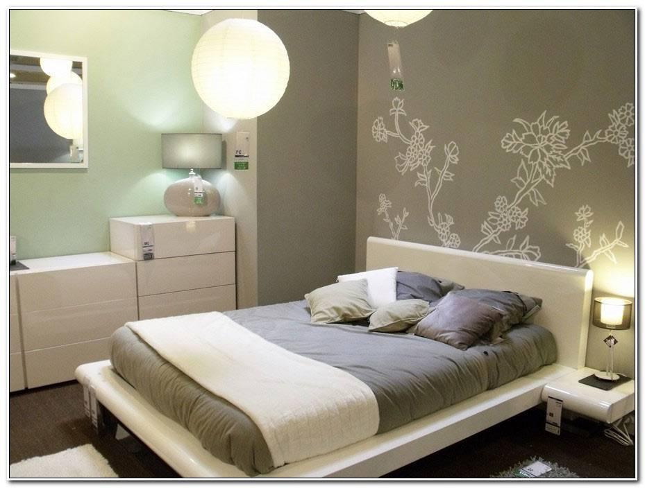 Chambre A Coucher Avec Papier Peint