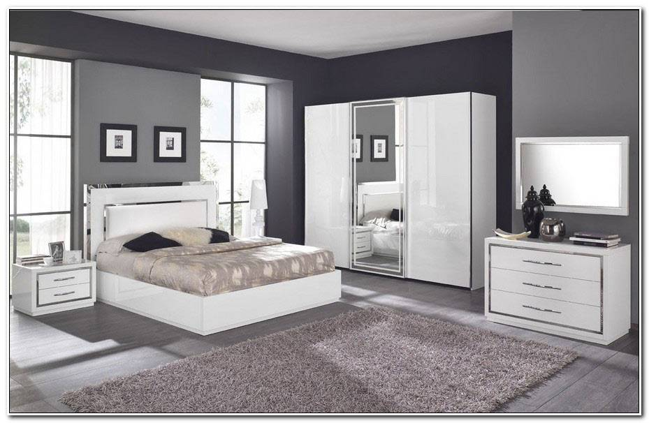 Chambre A Coucher Complete Blanche