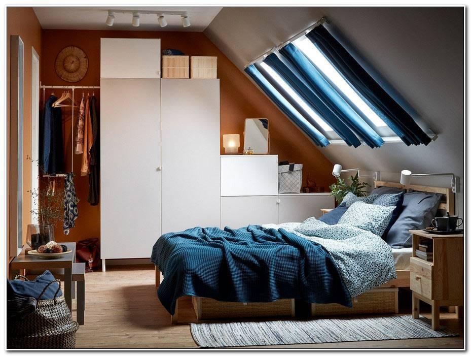 Chambre A Coucher Gris Et Bleu