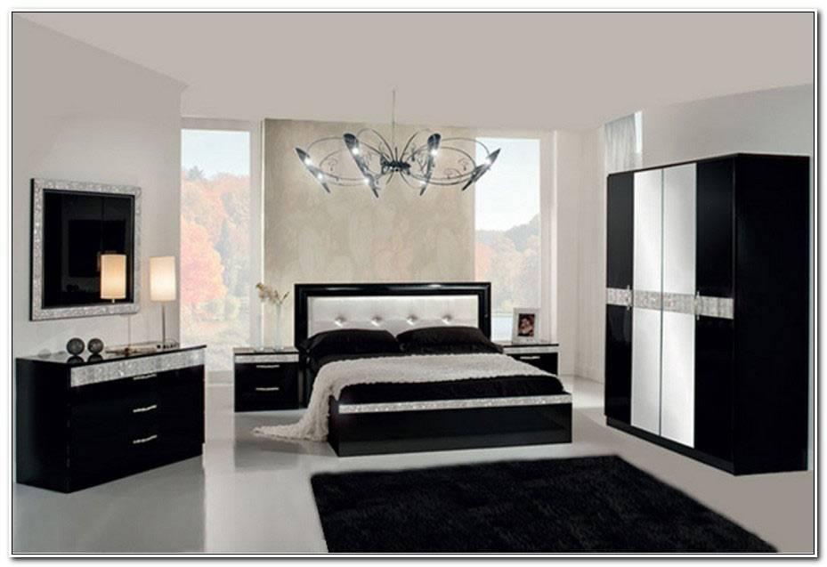 Chambre A Coucher Noir