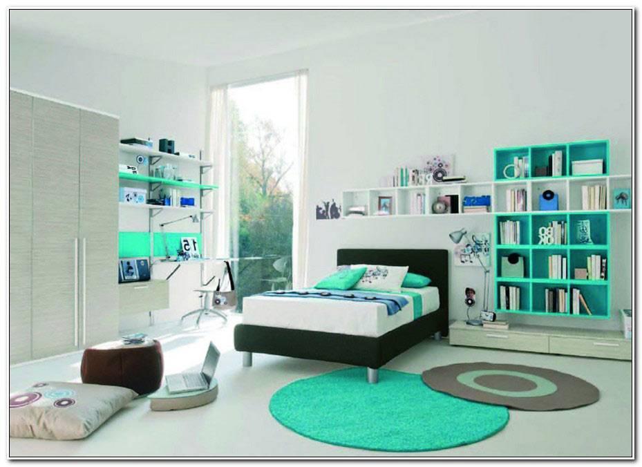 Chambre Ado Fille Bleu Et Blanc