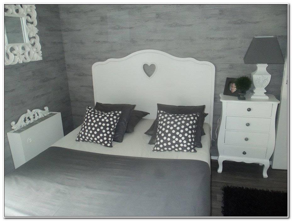 Chambre Ado Fille Gris Et Blanc