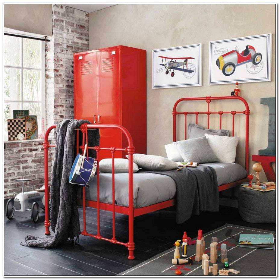 Chambre Ado Fille Style Industriel