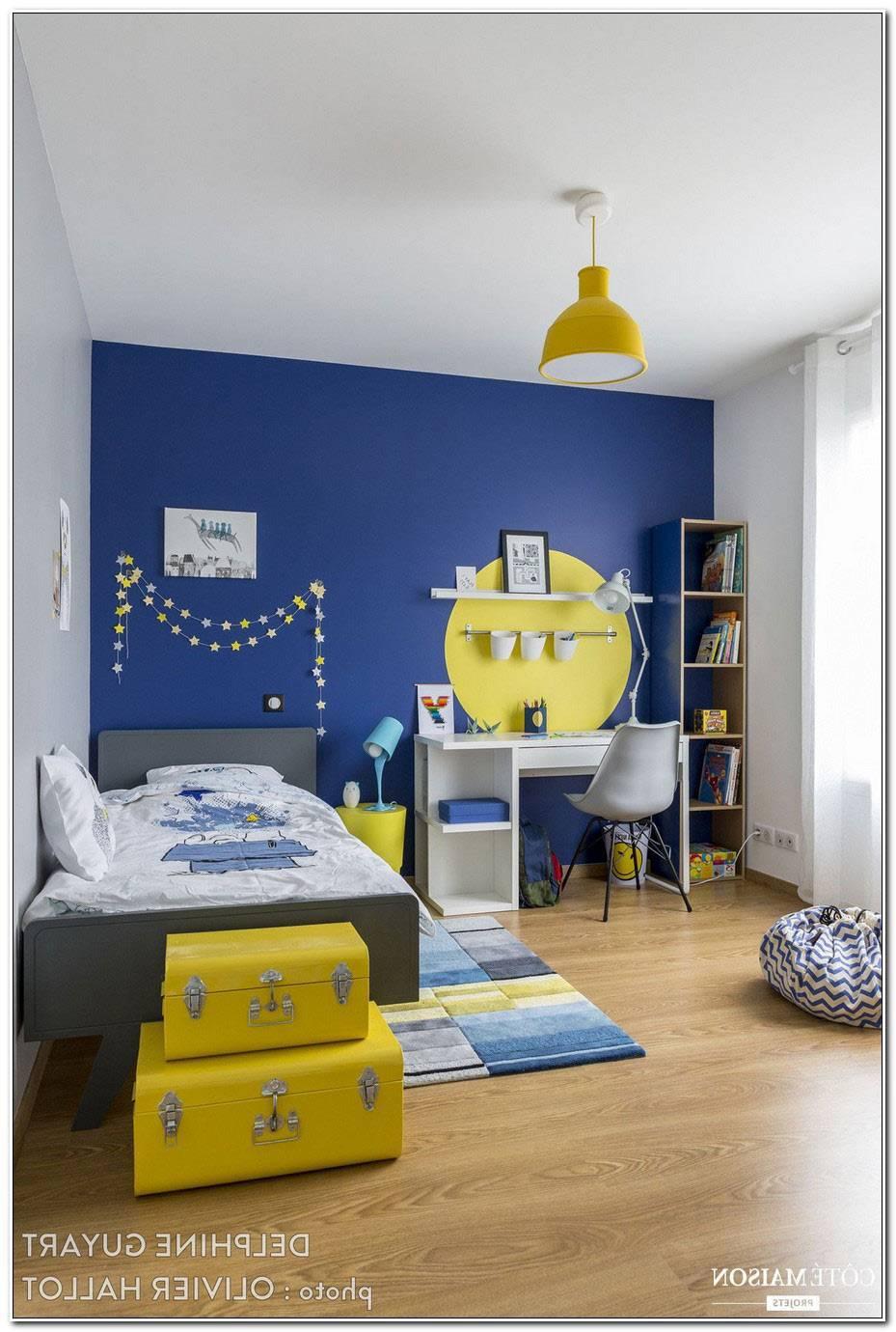 Chambre Ado Garcon Bleu Gris