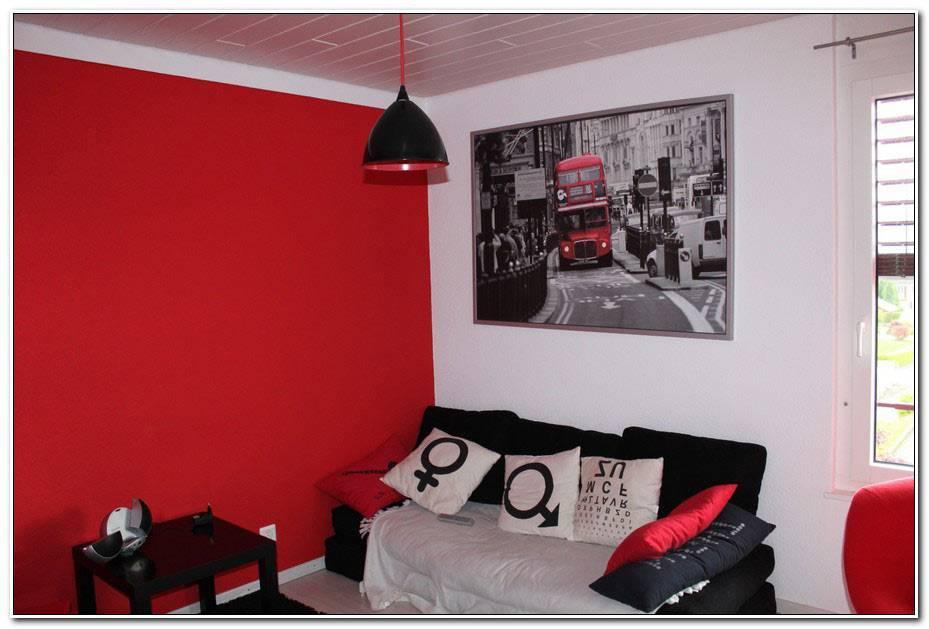 Chambre Ado Gris Rouge Blanc