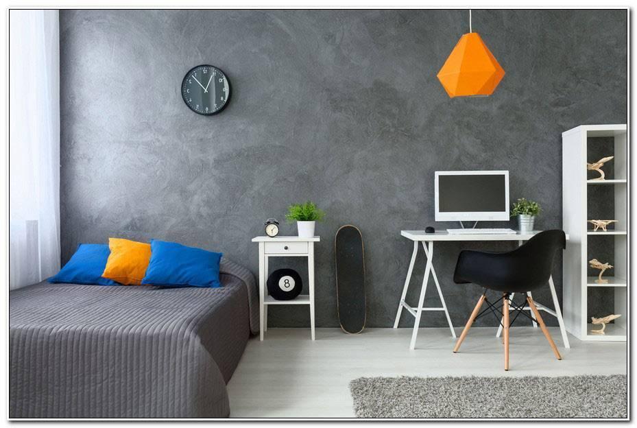 Chambre Ado Orange Et Gris