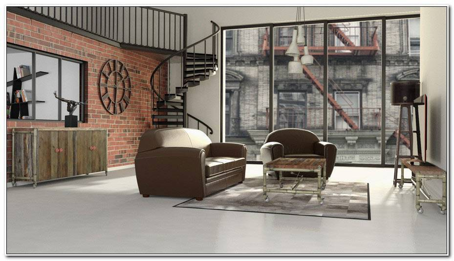 Chambre Ado Style Industriel